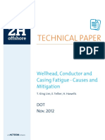 2012 DOT Wellhead Conductor and Casing Fatigue Causes and Mitigiation