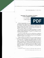 Association d'Un Nystagmus de Position Et d'Un Nystagmus Con