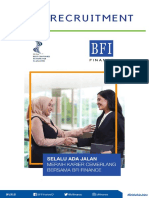 Open Recruitment BFI