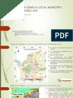 Estudio de licuación y amenaza sísmica del municipio de Apartad Antioquia
