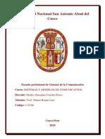Sistemas y Modelos de Comunicacion