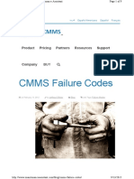 CMMS Failure Codes