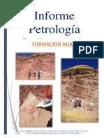 Informe Petrología           Sedimentaria
