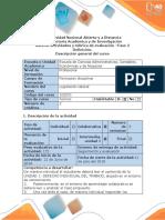 Guía de Actividades y Rúbrica de Evaluación - Fase 2 - Definición
