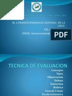 TECNICA  estrategias  e instrumentos deDE EVALUACION curso de verano.pptx