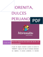 Plan de Mktoperativo Dulces Morenita