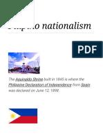 Filipino Nationalism - Wikipedia