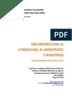 Lucas. Trabajos Literarios Alternativos. 10.05