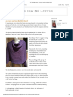 The Sewing Lawyer_ an Easy Machine Knitted Shawl