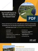 Top 10 Golf Courses In Palm Beach and Treasure Coast