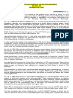 A.f. Sanchez Brokerage vs. CA and Fgu Insurance