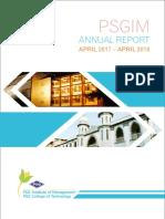 Psgim alumni report