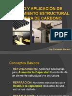 REFORZAMIENTO CON FIBRAS DE CARBONO