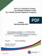 Standart Costing