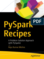 PySpark Recipes a Problem-Solution Approach With PySpark2