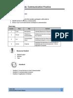 Communication Practice Module