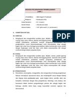 RPP 3.4. Menganalisis Prosedur Pembuatan Pola Anak