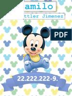Pediatrico Mickey Bebe