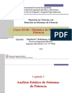 EE60 - Clase 3B - Flujo de Potencia - 2019-I