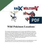 wild pokemon