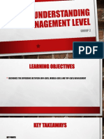 Understanding Management Level