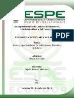 Retos y Oportunidades de La Economía Popular y Solidaria