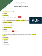 Examen Psiquiatria 2 Desarrollo