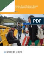 Informe Anual 2018 2019 ONU