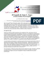 El Legado de Juan L. Lugo