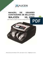 Manual de Operaciones Majcen 2700