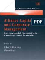 Boyd Alliance Capitalism and Corporate Management_ Entrepreneurial Cooperation in Knowledge Based Economies