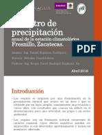 Método para el pronostico de Precipitación