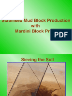 mud block production