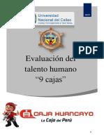 Programa de Evaluacion Del Talento Humano