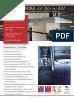 Ascensor Hidraulico Duplex HDM
