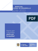 PND PLAN NACIONAL DE DESARROLLO COLOMBIA