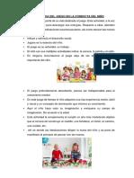 IMPORTANCIA DEL JUEGO EN LA CONDUCTA DEL NIÑO.docx