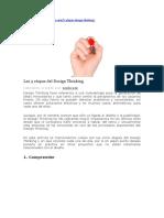 Las 5 Etapas Design Thinking