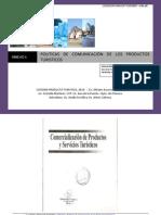 UNIDAD 6 Politica de Comunicacion de Los Productos Turisticos