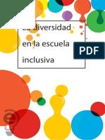 La Diversidad en La Escuela Inclusiva