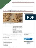 10 Receitas de Cookie Vegano Light - MundoBoaForma.com.Br