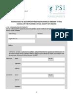 2019 Nomination Form