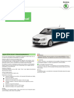 Skoda Octavia Break 2015 Manual