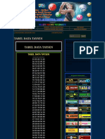 Togel Master » Tabel Data Taysen