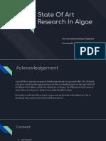 State Of Art Research In Algae.pptx