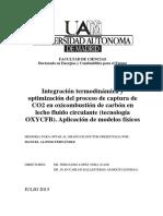 oxicombustion de carbon