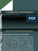t.s.03 Planimetria Subterranea