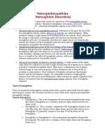 Hemoglobinopathies1-1