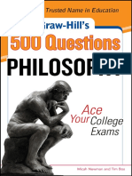 500 Questions Philosophy