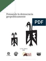 Pensando la democracia geopolíticamente